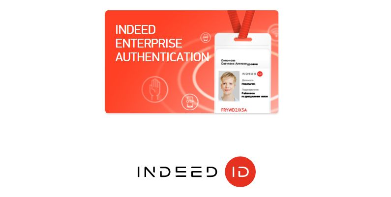 INDEED ENTERPRISE AUTHENTICATION